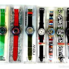 Relojes - Swatch: LOTE DE 7 RELOJES SWATCH. SUIZA. 1991-1992.. Lote 128516751