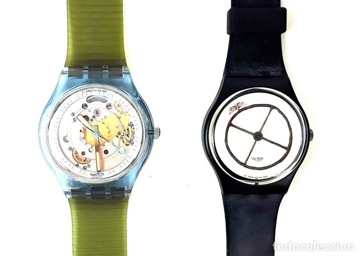Relojes - Swatch: LOTE DE 7 RELOJES SWATCH. SUIZA. 1991-1992. - Foto 3 - 128516751