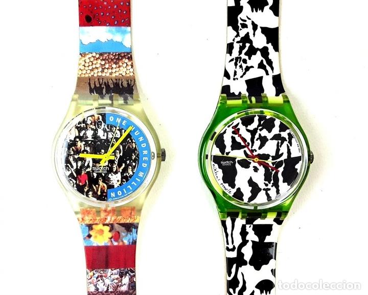Relojes - Swatch: LOTE DE 7 RELOJES SWATCH. SUIZA. 1991-1992. - Foto 4 - 128516751