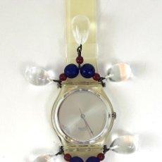 Relojes - Swatch: RELOJ SWATCH CHANDELIER CHRISTMAS 92. GZ125. SUIZA. 1992.. Lote 128863219