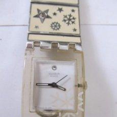 Relojes - Swatch: RELOJ SWATCH DE CUARZO PARA MUJER. Lote 130110495