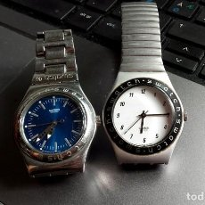 Relojes - Swatch: LOTE DE DOS RELOJES SWATCH, DE FINALES DE LOS 90.. Lote 130766576