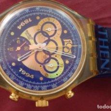 Relojes - Swatch: RELOJ CHRONO SWATCH SCZ101 ESPECIAL I.O.C 100 SARAJEVO. Lote 132914002