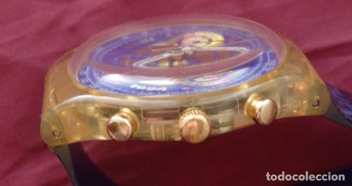Relojes - Swatch: RELOJ CHRONO SWATCH SCZ101 ESPECIAL I.O.C 100 SARAJEVO - Foto 3 - 132914002