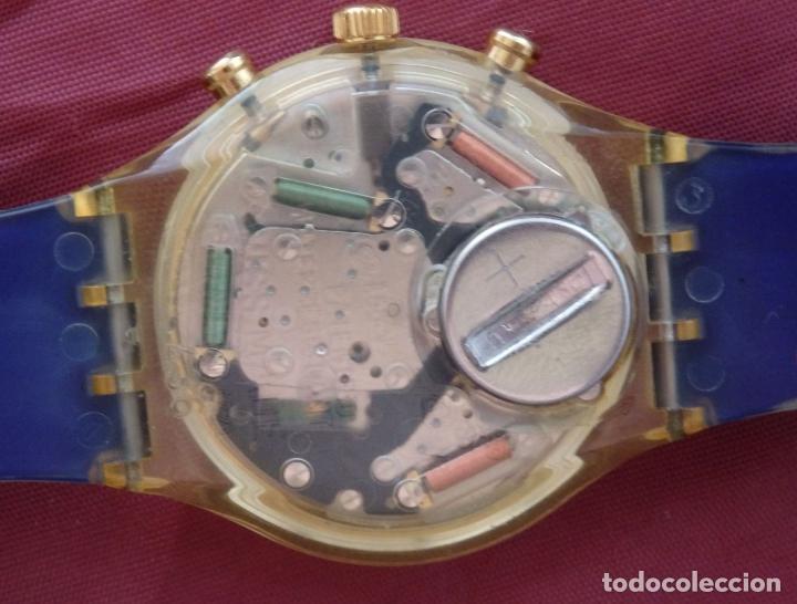 Relojes - Swatch: RELOJ CHRONO SWATCH SCZ101 ESPECIAL I.O.C 100 SARAJEVO - Foto 4 - 132914002