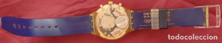 Relojes - Swatch: RELOJ CHRONO SWATCH SCZ101 ESPECIAL I.O.C 100 SARAJEVO - Foto 5 - 132914002