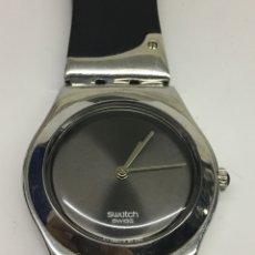 Relojes - Swatch: RELOJ SWATCH IRONY MODELO CON CORREA ESPECIAL COMO NUEVO EN FUNCIONAMIENTO DE MUJER. Lote 137350597