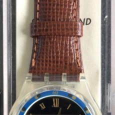 Relojes - Swatch: RELOJ SWATCH SOLAR, NUEVO ENSU CAJA Y DOCUMENTOS, ANTIGUO STOCK, PILA NUEVA.. Lote 142666452