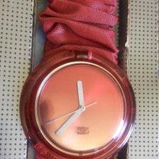 Relojes - Swatch: RELOJ SWATCH POP, NUEVO DE ANTIGUO STOCK, 1995, EN SU CAJA Y DOCUMENTACIÓN, PILA NUEVA.. Lote 139053978