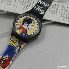 Relojes - Swatch: RELOJ SWATCH NAPOLEON COLECCIÓN EDICIÓN LIMITAD. Lote 139054230