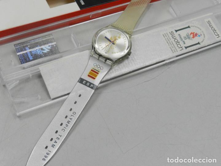 venta caliente online ac3a7 42c11 Reloj swatch equipo olimpico de españa colecci - Sold at ...