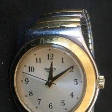Relojes - Swatch: EXCELENTE RELOJ DE CUARZO DE LA MARCA SWATCH CON CADENA METALICA. Lote 139261810