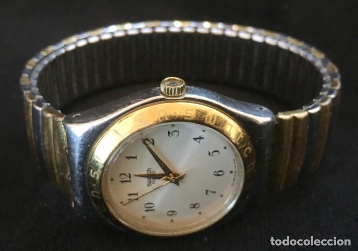 Relojes - Swatch: EXCELENTE RELOJ DE CUARZO DE LA MARCA SWATCH CON CADENA METALICA - Foto 2 - 139261810