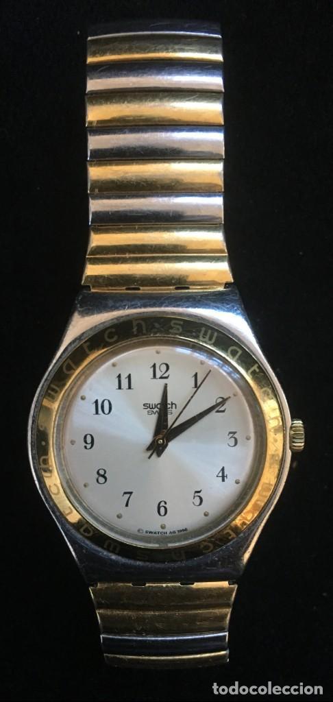 Relojes - Swatch: EXCELENTE RELOJ DE CUARZO DE LA MARCA SWATCH CON CADENA METALICA - Foto 3 - 139261810