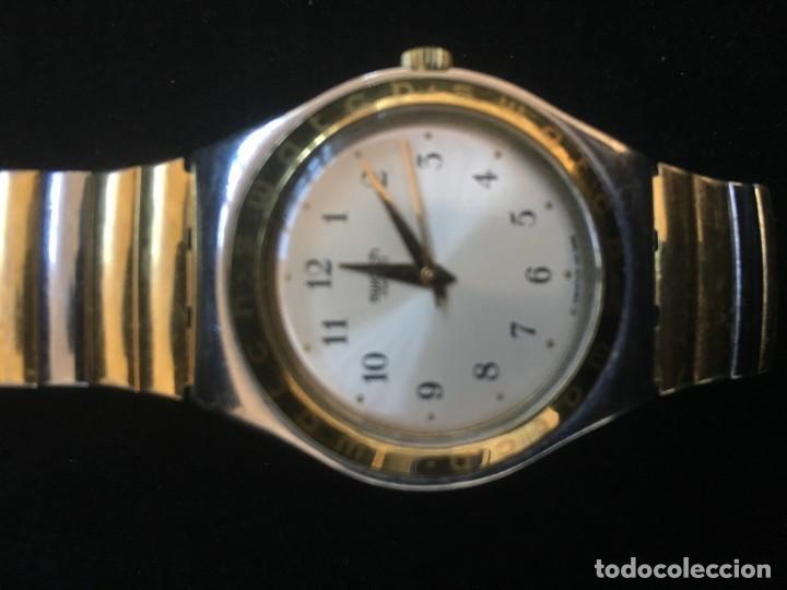 Relojes - Swatch: EXCELENTE RELOJ DE CUARZO DE LA MARCA SWATCH CON CADENA METALICA - Foto 4 - 139261810