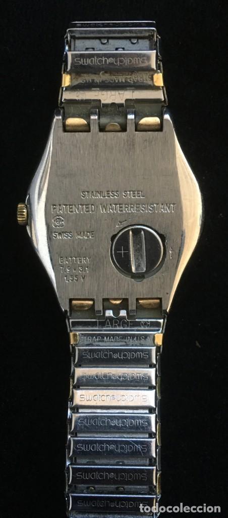 Relojes - Swatch: EXCELENTE RELOJ DE CUARZO DE LA MARCA SWATCH CON CADENA METALICA - Foto 5 - 139261810