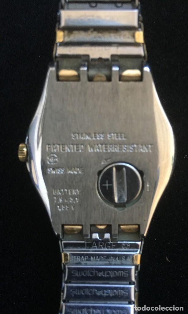 Relojes - Swatch: EXCELENTE RELOJ DE CUARZO DE LA MARCA SWATCH CON CADENA METALICA - Foto 6 - 139261810