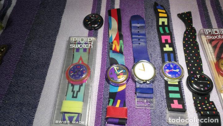 Relojes - Swatch: Lote de 10 relojes SWATCH están sin comprobar por tanto para reparar, repasar o piezas - Foto 3 - 140268814