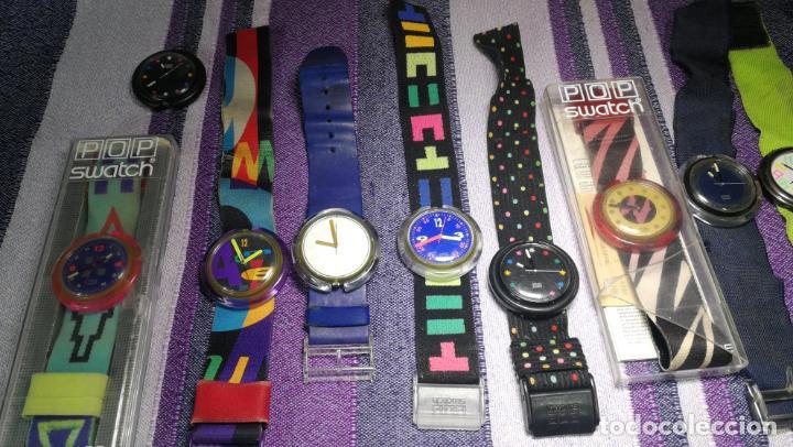 Relojes - Swatch: Lote de 10 relojes SWATCH están sin comprobar por tanto para reparar, repasar o piezas - Foto 4 - 140268814