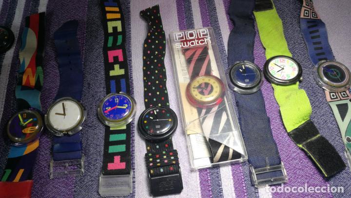 Relojes - Swatch: Lote de 10 relojes SWATCH están sin comprobar por tanto para reparar, repasar o piezas - Foto 5 - 140268814