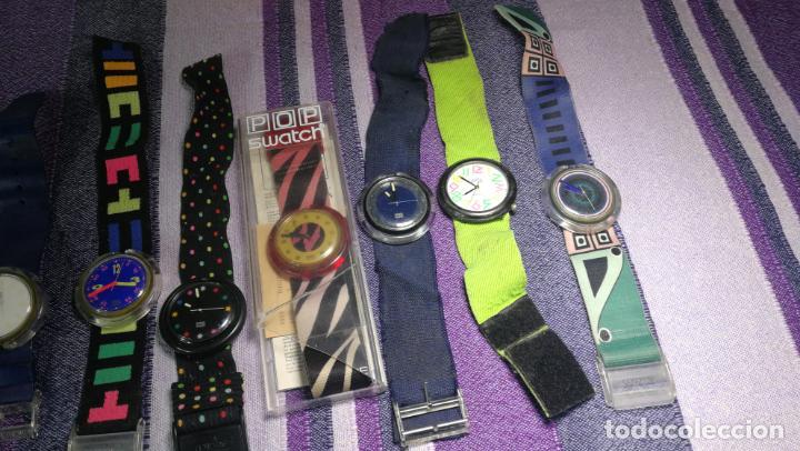 Relojes - Swatch: Lote de 10 relojes SWATCH están sin comprobar por tanto para reparar, repasar o piezas - Foto 6 - 140268814