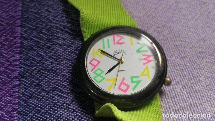 Relojes - Swatch: Lote de 10 relojes SWATCH están sin comprobar por tanto para reparar, repasar o piezas - Foto 13 - 140268814