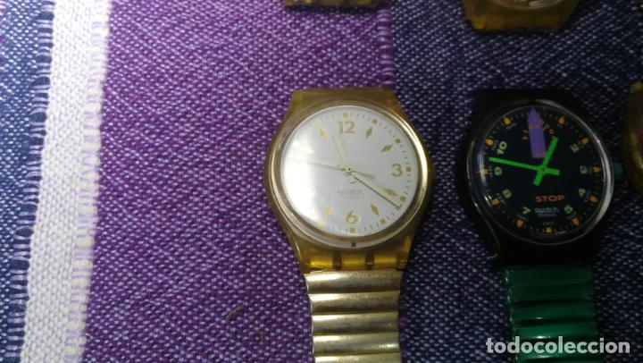 Relojes - Swatch: Lote de 11 relojes SWATCH de mallas metálicas sin comprobar por tanto para reparar, repasar o piezas - Foto 35 - 140274530