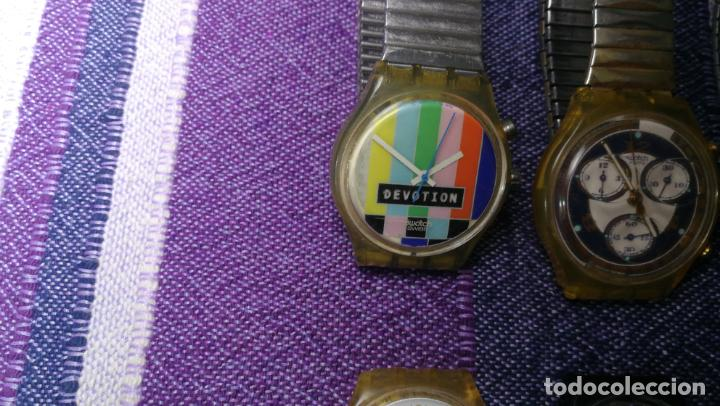 Relojes - Swatch: Lote de 11 relojes SWATCH de mallas metálicas sin comprobar por tanto para reparar, repasar o piezas - Foto 36 - 140274530