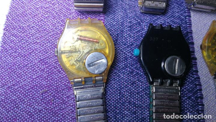 Relojes - Swatch: Lote de 11 relojes SWATCH de mallas metálicas sin comprobar por tanto para reparar, repasar o piezas - Foto 38 - 140274530
