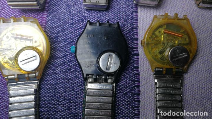 Relojes - Swatch: Lote de 11 relojes SWATCH de mallas metálicas sin comprobar por tanto para reparar, repasar o piezas - Foto 39 - 140274530