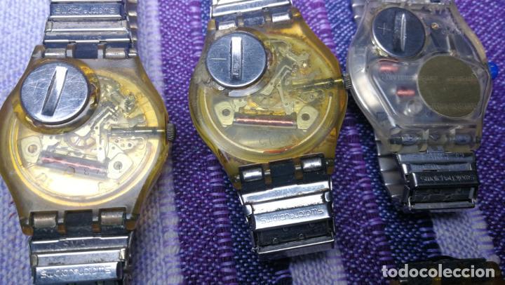 Relojes - Swatch: Lote de 11 relojes SWATCH de mallas metálicas sin comprobar por tanto para reparar, repasar o piezas - Foto 44 - 140274530