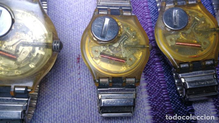 Relojes - Swatch: Lote de 11 relojes SWATCH de mallas metálicas sin comprobar por tanto para reparar, repasar o piezas - Foto 45 - 140274530