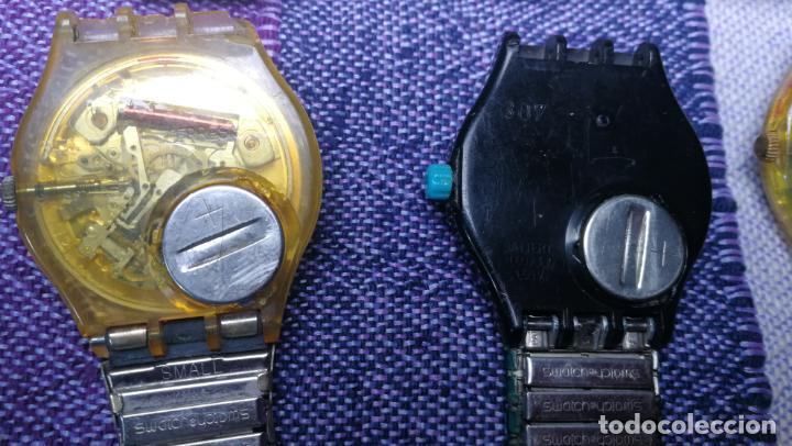 Relojes - Swatch: Lote de 11 relojes SWATCH de mallas metálicas sin comprobar por tanto para reparar, repasar o piezas - Foto 49 - 140274530