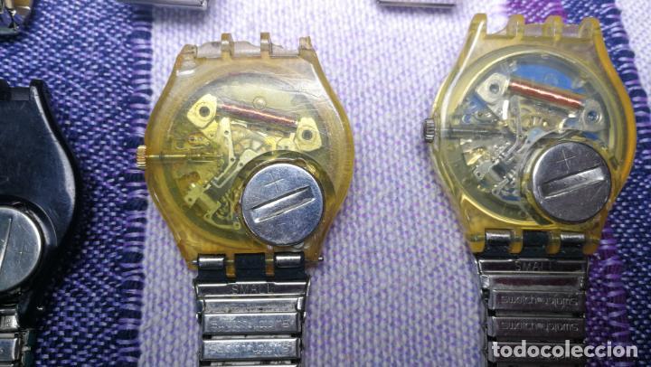 Relojes - Swatch: Lote de 11 relojes SWATCH de mallas metálicas sin comprobar por tanto para reparar, repasar o piezas - Foto 51 - 140274530