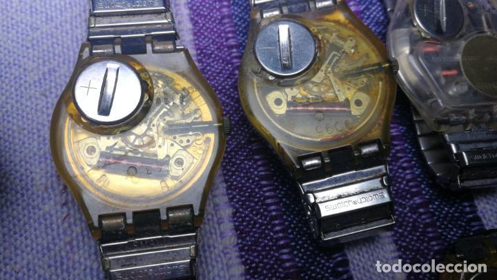 Relojes - Swatch: Lote de 11 relojes SWATCH de mallas metálicas sin comprobar por tanto para reparar, repasar o piezas - Foto 54 - 140274530