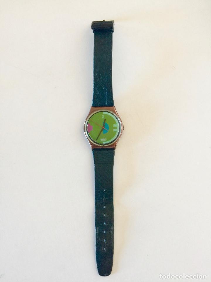 RELOJ DE PULSERA SWATCH SUIZA DEL AÑO 1989 (Relojes - Relojes Actuales - Swatch)