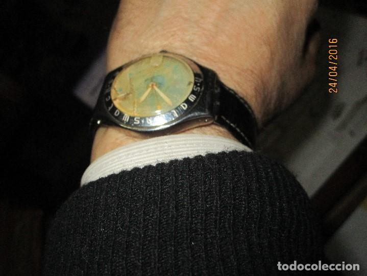 Relojes - Swatch: RARO RELOJ ANTIGUO SWATCH IRONY ACERO WATER RESISTENT MADE SUIZA PARA RESTAURAR TOTAL - Foto 20 - 143945926