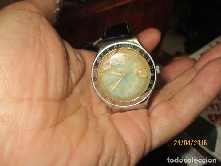 Relojes - Swatch: RARO RELOJ ANTIGUO SWATCH IRONY ACERO WATER RESISTENT MADE SUIZA PARA RESTAURAR TOTAL - Foto 28 - 143945926