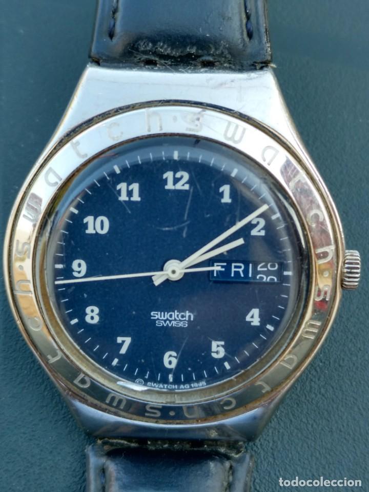 RELOJ SWATCH SWISS AG 1995 FUNCIONA PERFECTAMENTE (Relojes - Relojes Actuales - Swatch)
