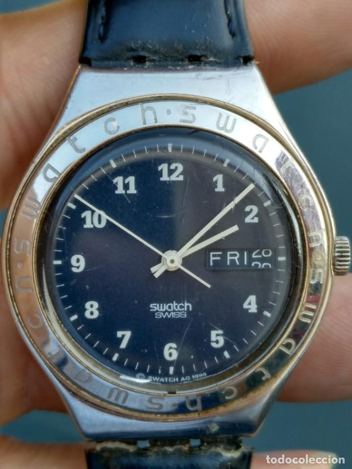 Relojes - Swatch: Reloj Swatch swiss AG 1995 funciona perfectamente - Foto 2 - 145069358