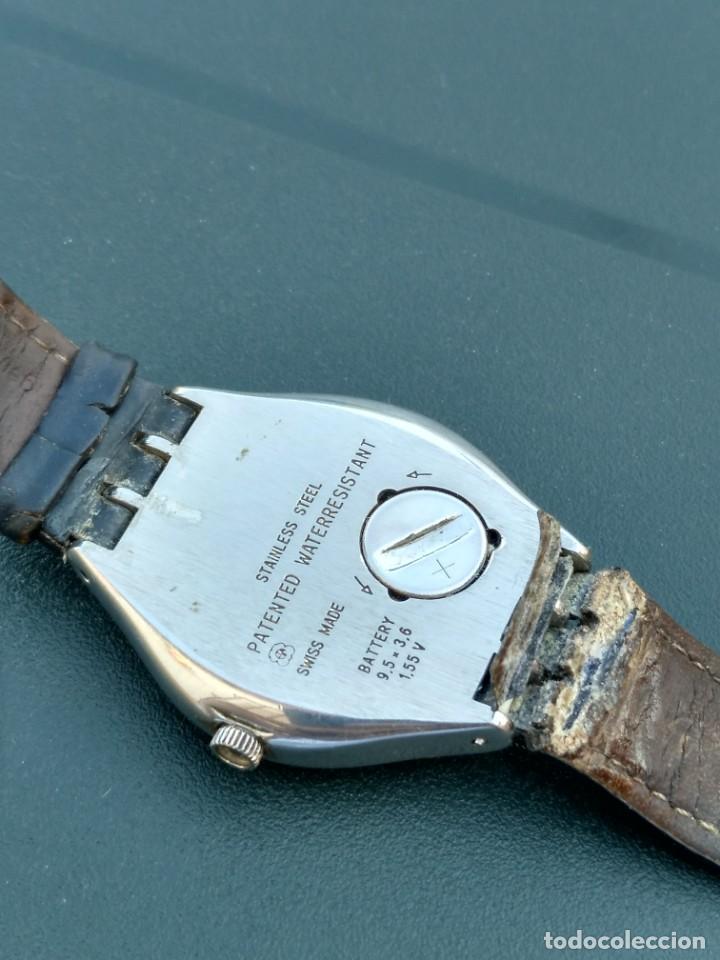 Relojes - Swatch: Reloj Swatch swiss AG 1995 funciona perfectamente - Foto 4 - 145069358