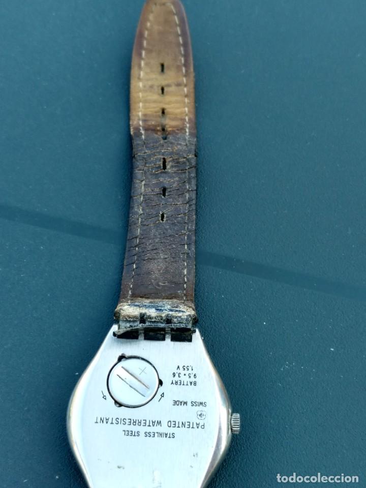 Relojes - Swatch: Reloj Swatch swiss AG 1995 funciona perfectamente - Foto 6 - 145069358