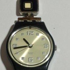 Relojes - Swatch: SWATCH QUARTZ DE MUJER 25 M/M.Ø,SEGUNDERO,PULSERA MAX 145 M/M.. Lote 145801362