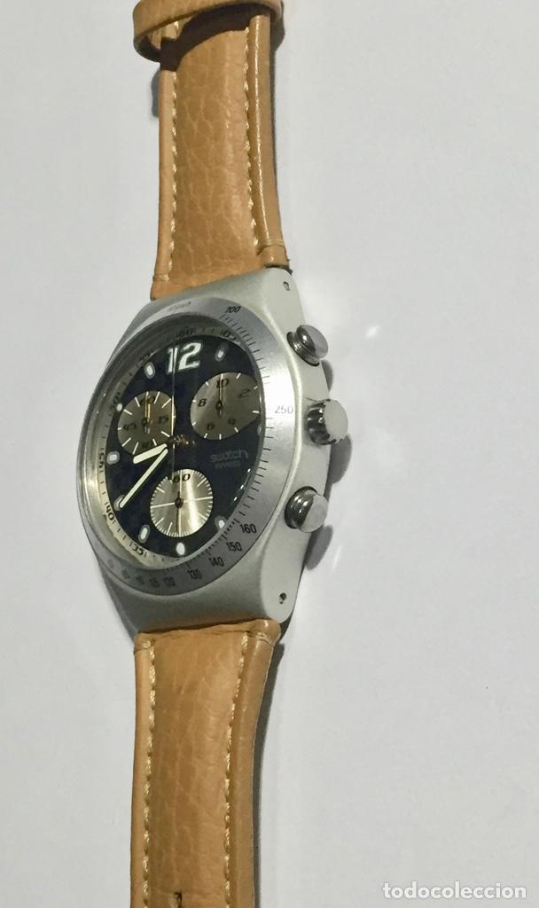 Relojes - Swatch: SWATCH IRONY ALUMINIUM CRONOGRAF, CAL. ETA. 42,4 M/M.C/C. - Foto 3 - 146580654
