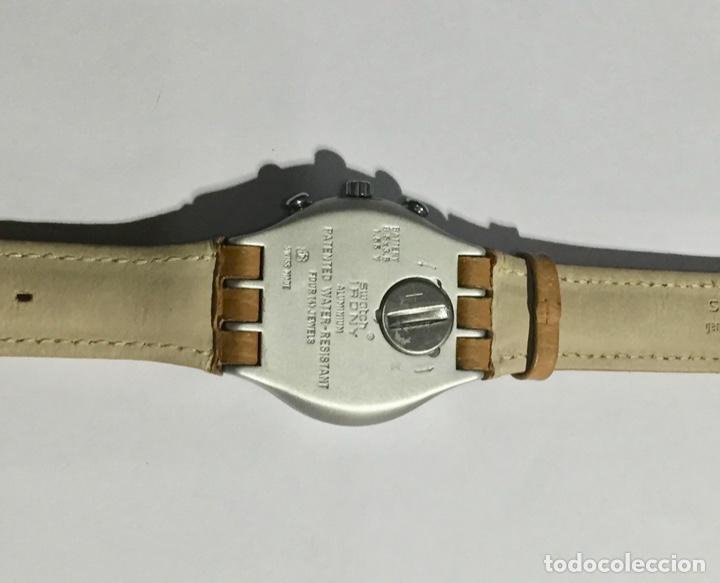Relojes - Swatch: SWATCH IRONY ALUMINIUM CRONOGRAF, CAL. ETA. 42,4 M/M.C/C. - Foto 5 - 146580654