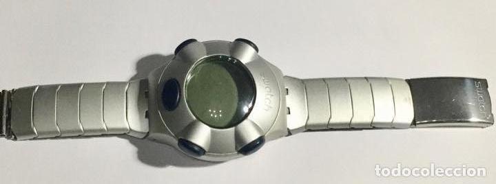 SWATCH BEAT ALUMINIUM CAL.ETA V8 - PULSERA MAX 180 M/M.EXTENSIBLE 2 M/M. MÁS. (Relojes - Relojes Actuales - Swatch)