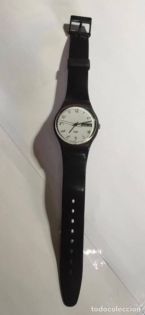 Relojes - Swatch: SWATCH IRONY CAL. ETA. 35 M/M.C/C. DOBLE CALENDARIO , SEGUNDERO. - Foto 2 - 146616882
