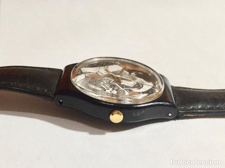 Relojes - Swatch: SWATCH CAL. ETA. 35 M/M.C/C. SWISS MADE,SEGUNDERO. - Foto 5 - 146618194