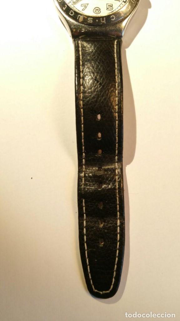 Relojes - Swatch: RELOJ SWATCH IRONY, PULSERA DE PIEL - R4 - Foto 3 - 146924018