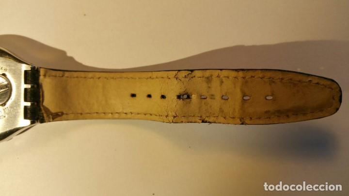 Relojes - Swatch: RELOJ SWATCH IRONY, PULSERA DE PIEL - R4 - Foto 5 - 146924018